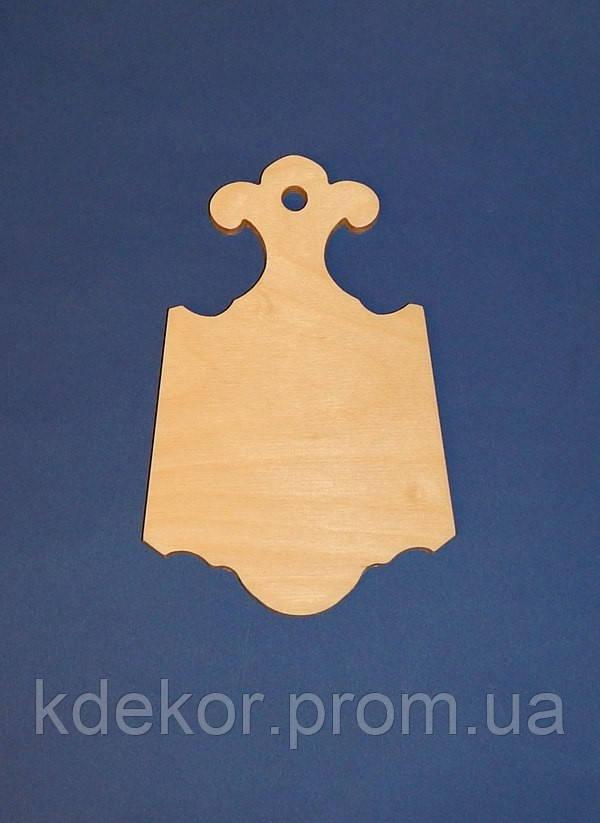 Доска фигурная (фанера 6мм) заготовка для декупажа и декора