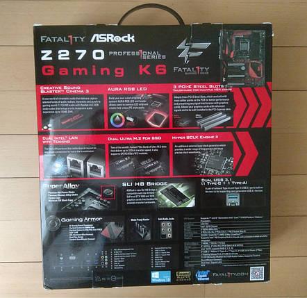 Материнская плата ASRock Fatal1ty Z270 Gaming K6, фото 2