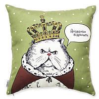 """Подушка """"Кот в короне"""""""