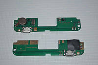 Шлейф (Flat cable) с коннектором зарядки, микрофона, виброзвонка для Lenovo S8 | S898T | S898T+
