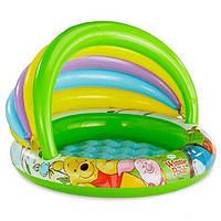 Детский надувной бассейн «Винни Пух» c навесом Intex 57424