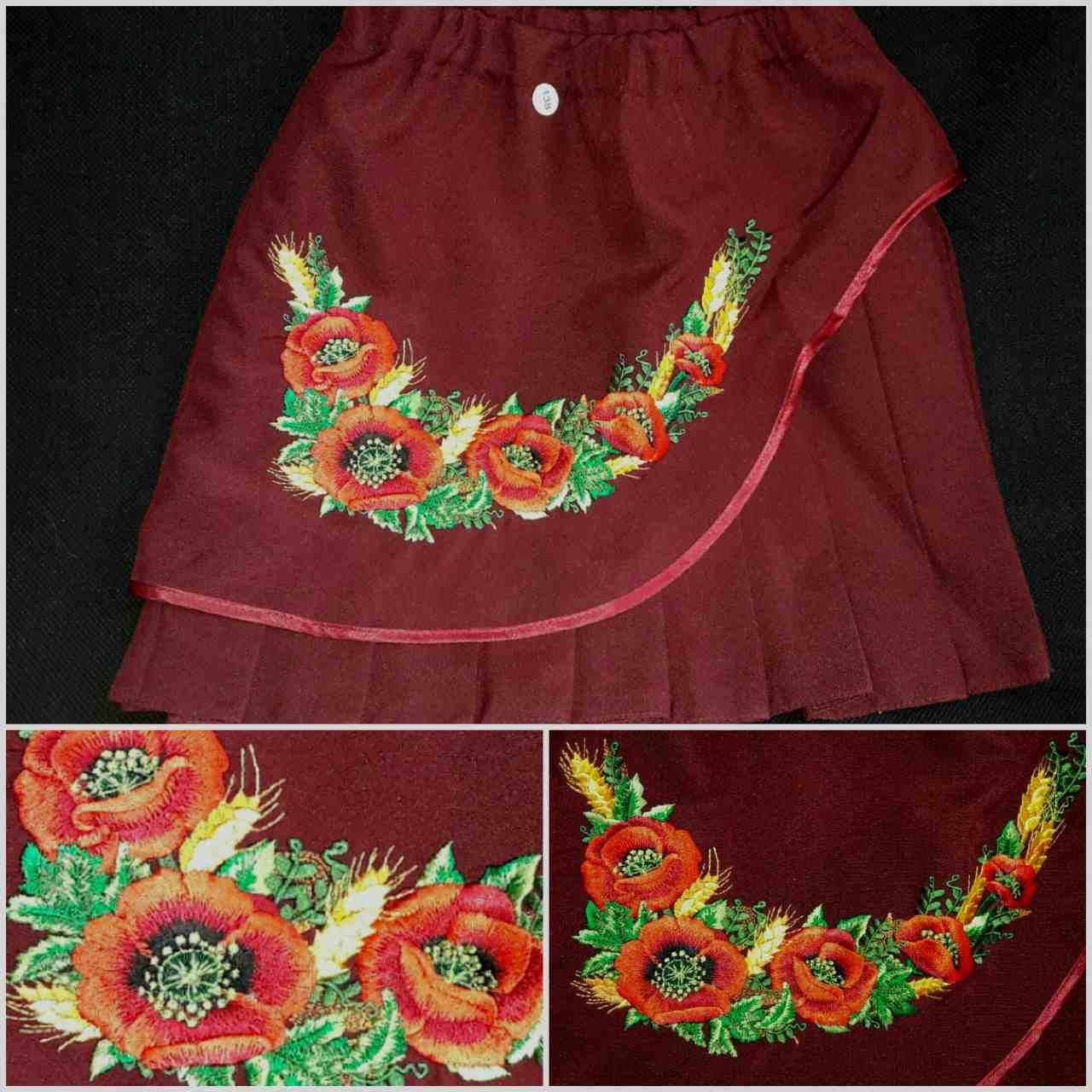 160f15a0645 Красивая вышитая юбка