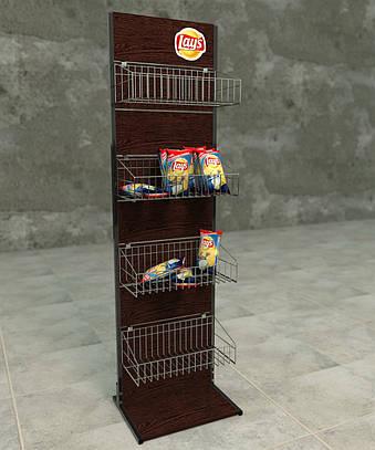 Торговое оборудование стенды под чипсы