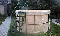Каркасный бассейн OMEGA (270 Х 135 см.)