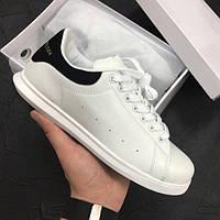 Кроссовки женские Alexander McQueen 15117 белые