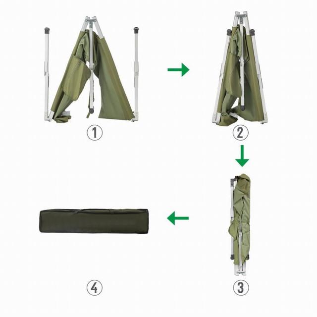 Туристическая складная раскладушка Military Folding Camping Bed купить в Харькове