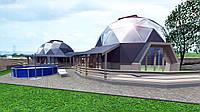 Купольный дом проект BIG_LUX