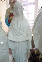 Скульптура Матері Божої Покрова 170 см бетон