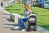 Прогулянкова коляска Chicco Ohlala з дощовиком вага 3,8 кг, фото 9