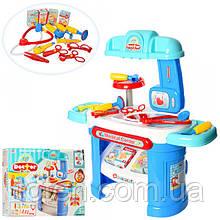 Игровой набор Детский Доктор 008-913 столик, медицинские инструменты