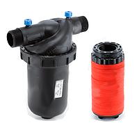 Фильтр для капельного полива дисковый 1740-DT-120, диаметр 1 1/4 дюйма, расход воды 6-10 м3/ч