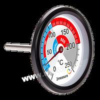 Термометр для коптильни и барбекю 0 ° C до + 250 ° С