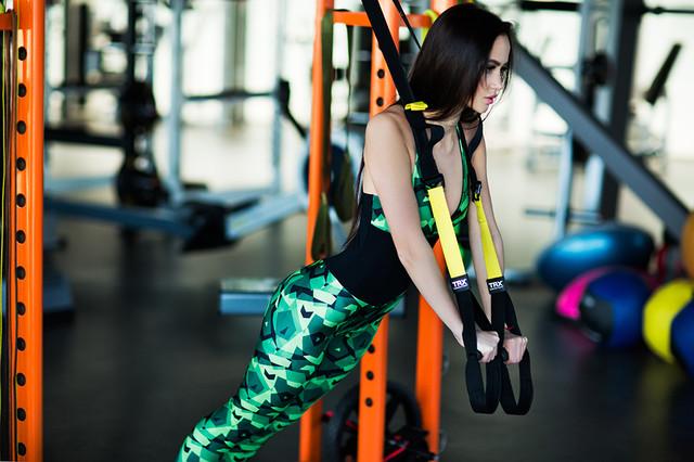 Комбинезон для фитнеса и йоги Designed For Fitness - Geometric Green. Шоу-рум, доставка по Киеву и Украине, 0987555561