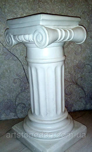 Колонна греческая № 2 бетон 70 см