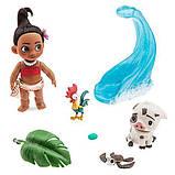 Кукла Моана мини аниматор в чемоданчике с аксессуарами, фото 2