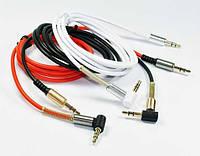 Аудио кабель AUX Jack 3.5mm металлический боковой