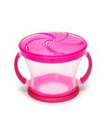 Контейнер для печенья розовый Munchkin 01100601.02
