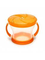 Контейнер для печенья оранжевый Munchkin 01100601.03