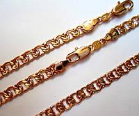 Цепочка + браслет, плетение Муза, длина 60 см бр. 21 см