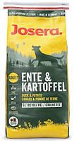 Josera Ente & Kartoffel 15 кг -гипоаллергенный корм для собак (Йозера Утка и Картофель)