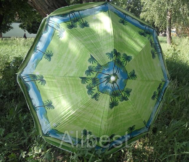 Зонт пляжный, торговый угловой 180 см.