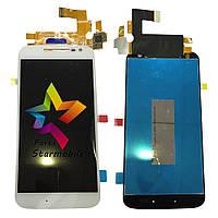 Дисплей для мобильных телефонов Motorola XT1622 Moto G4, XT1625 Moto G4 LTE, XT1642 Moto G4 Plus,белый