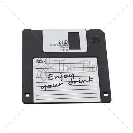"""D004 Костер """"Floppy Disk"""" 10x10 см, каучук, фото 2"""