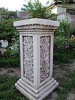 Колонна с розами фиброполимер 75 см, фото 1
