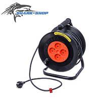 Удлинитель на катушке  25 м У16-01 ПВС (сечение провода 3х1.5 мм2) пер25Б/3