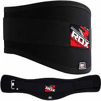 Пояс для тяжелой атлетики RDX Black XL