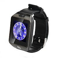 Смарт часы Smart Watch Phone DZ09 Black с Sim картой