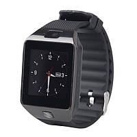 Смарт часы Smart Watch Phone DZ09s Black с Sim картой! И камерой.