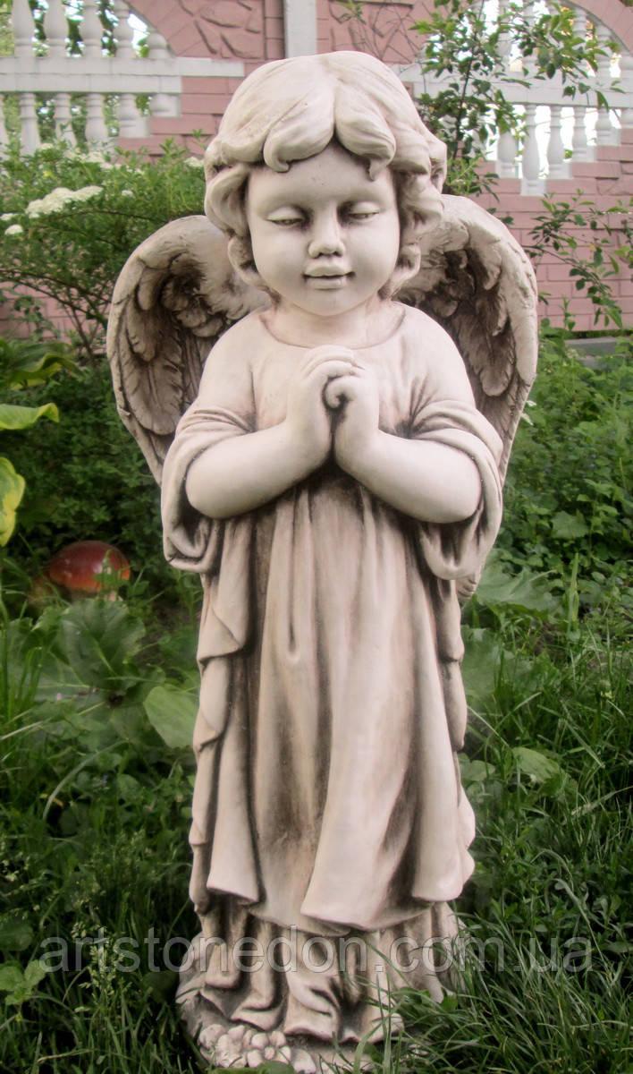 Статуя Девочки ангела из фиброполимер 72 см