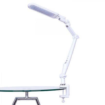 Светодиодная настольная лампа EBRU SL- 1107 10W белая, сенсор, диммер, универсальная Код.58907, фото 2