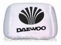 Чехлы на подголовники Daewoo белые