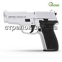 Пістолет стартовий Retay Baron HK Nickel