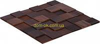 Мозаика деревянная 3D Tessera  * Термо дуб