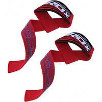Лямки для тяги RDX Gel Pro Red