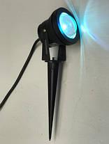 Светодиодный грунтовой линзованный светильник LM16 RGB 10W IP65 Код.58913, фото 2