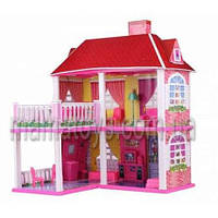 Кукольный дом 6980 2-х этажный с мебелью в коробке