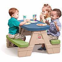 """Стол для игр детский """"Sit&play"""" 48х93х73 см Step 2"""