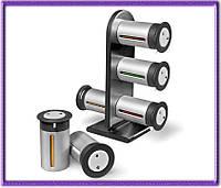 Набор контейнеров для специй Wall Mounted Magnetic Spice Rack на 6 емкостей.