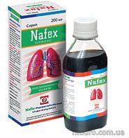 Сироп «Нафекс» –для применения при хронических заболеваний дыхательных путей, способствует смягчению кашля(