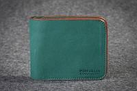 Кожаный портмоне Friend Green