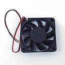 Вентилятор 12 V 60x60x15 (0.11A), фото 3