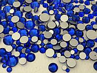 Стразы Swarovski mix Blue (100 шт)