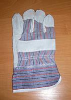 Перчатки спилок + х/б