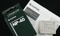 Аккумулятор FujiFilm NP-40 для FinePix Z5fd | J50 | V10 | F480 | F470 | F460 | F610 | Z3 | Z2 | Z1