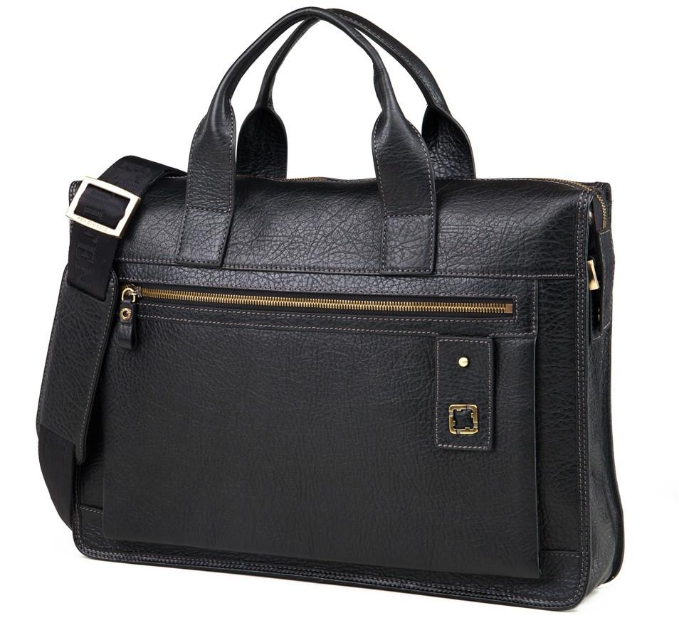 Мужская сумка Tifenis TF69970-3A черная
