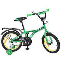"Велосипед Profi 14"" Racer G1632 Green BI"